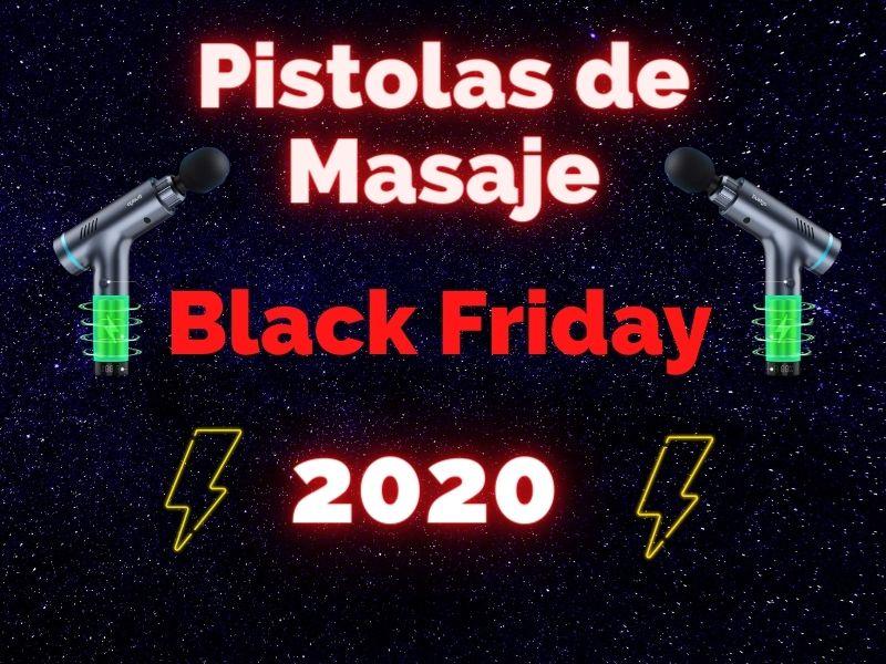 pistolas de masaje Black Friday 2020