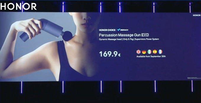 Pistola de masaje Honor EVO precio